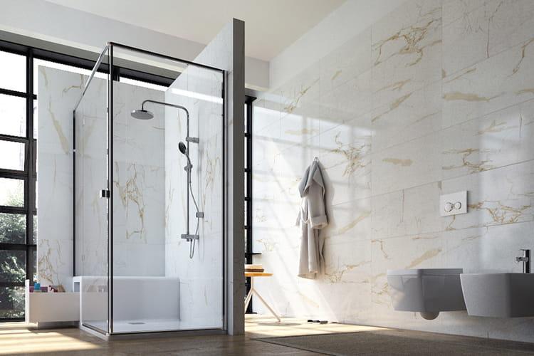 Si ge sous la douche des salles de bains qui font r ver - Pipe sous la douche ...