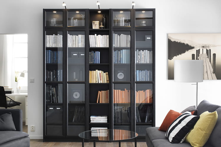 pour prot ger vos livres 20 biblioth ques audacieuses et astucieuses linternaute. Black Bedroom Furniture Sets. Home Design Ideas