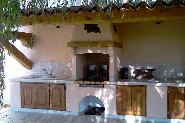 Une cuisine ext rieure pour le jardin les plus belles id es de barbecue f - Photo cuisine exterieure jardin ...