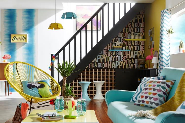 ambiance jungle avec coco le perroquet. Black Bedroom Furniture Sets. Home Design Ideas