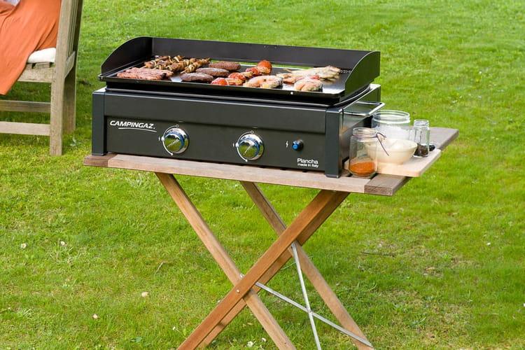 La plancha gaz poser lx de campingaz 18 barbecues et - Plancha gaz campingaz ...