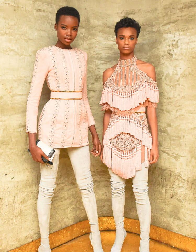 La maison de couture balmain for Akay maison de couture