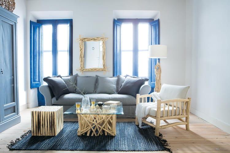 des meubles effet bois flott. Black Bedroom Furniture Sets. Home Design Ideas