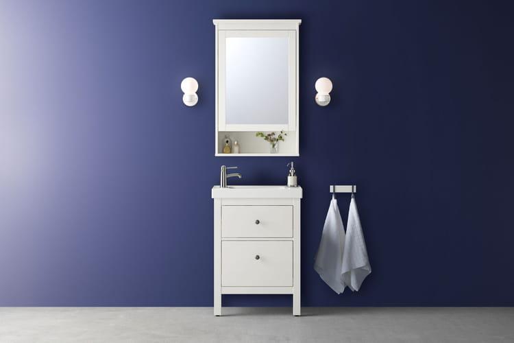 Un meuble de salle de bains passe partout ikea nos for Ikea petit meuble salle de bain