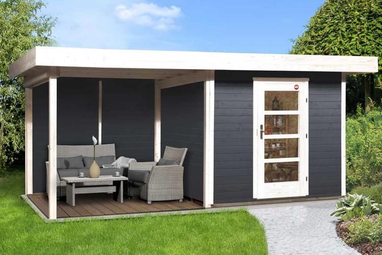 Lounge l 39 abri de jardin ultra moderne des abris et for Cabane de jardin moderne
