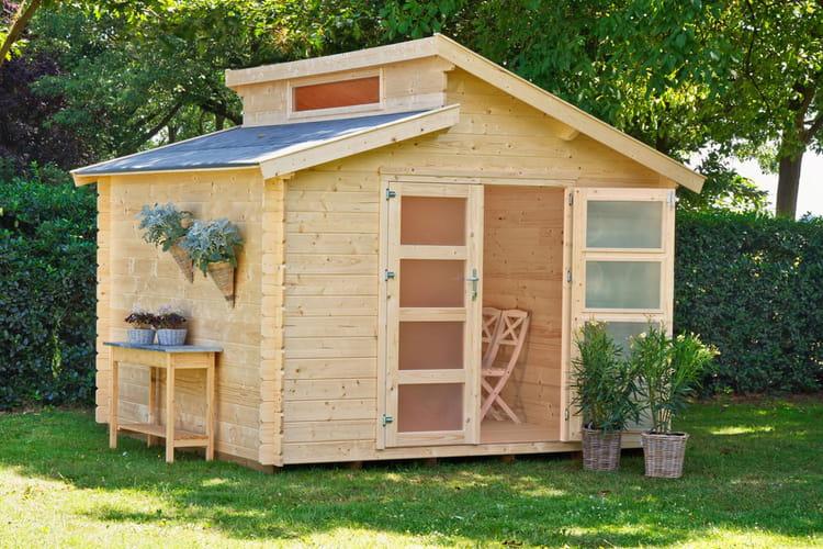 benno l 39 abri de jardin robuste et esth tique des abris. Black Bedroom Furniture Sets. Home Design Ideas