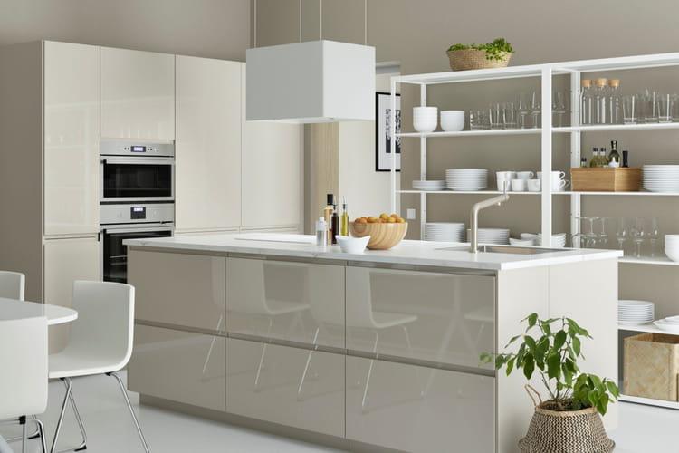 Salle De Bain Romantique Chic : cuisine esthétique et raffinée  Cuisine Ikea 2017  des cuisines