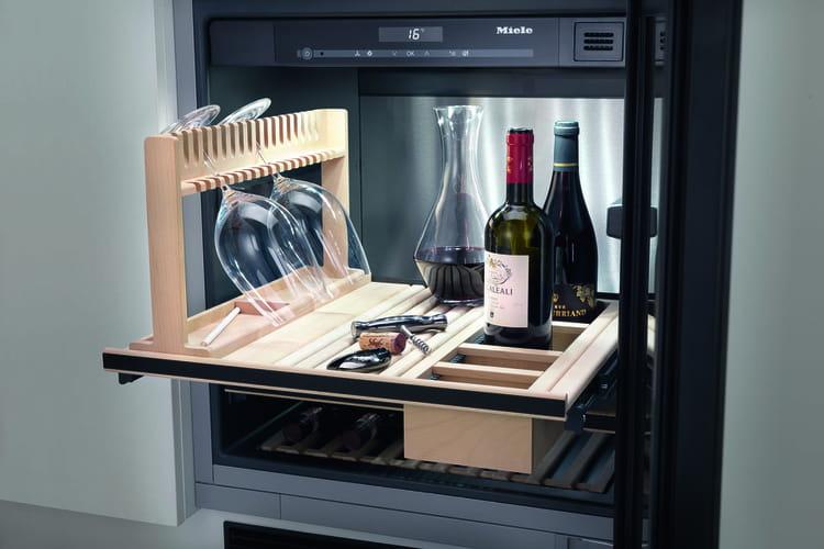 l 39 armoire vin miele kwt6312 l 39 l gance encastrable. Black Bedroom Furniture Sets. Home Design Ideas