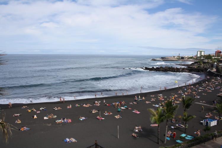 Playa del jardin sur l 39 le de t n rife les plus belles plages d 39 espagne linternaute - Jardin caleta tenerife sur ...