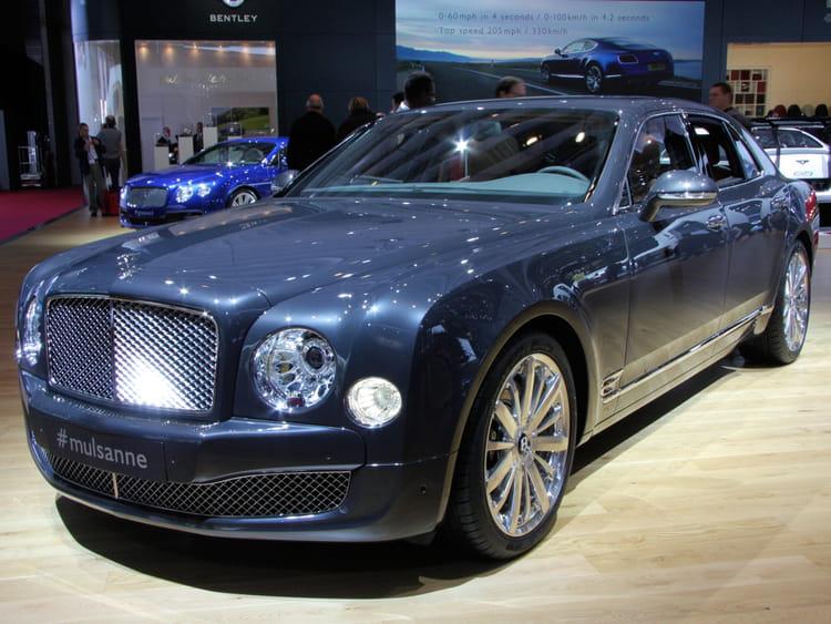 bentley mulsanne mondial de l 39 auto 2012 les voitures de luxe envahissent paris linternaute. Black Bedroom Furniture Sets. Home Design Ideas