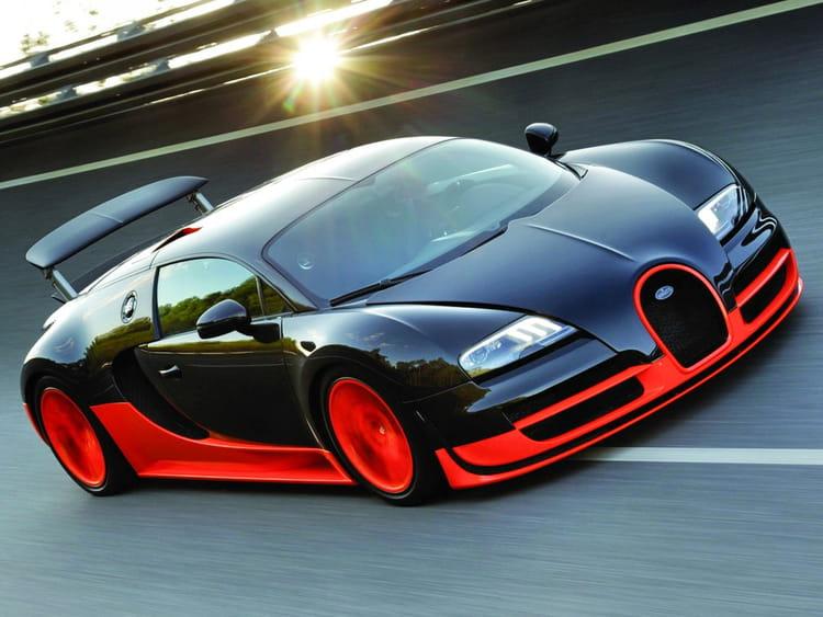 bugatti veyron super sport les voitures les plus ch res du monde linternaute. Black Bedroom Furniture Sets. Home Design Ideas
