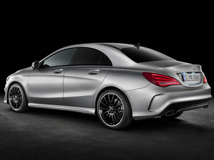 Mercedes-Benz- CLA : design