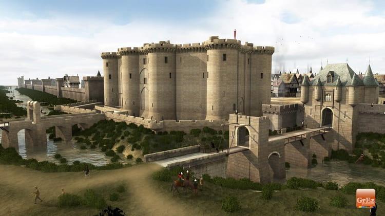 Le forteresse de la bastille des images de paris au for Porte saint antoine