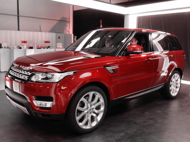 moteurs v6 diesel et v8 essence nouveau range rover sport les allemands peuvent trembler. Black Bedroom Furniture Sets. Home Design Ideas