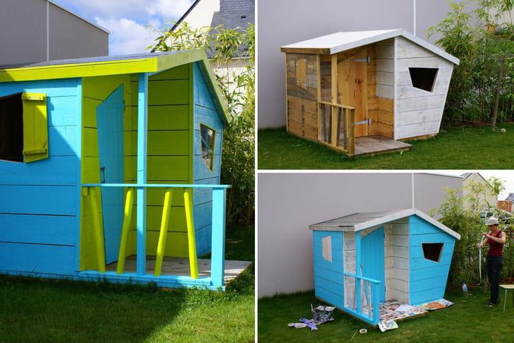 une cabane originale les plus belles cabanes des lecteurs linternaute. Black Bedroom Furniture Sets. Home Design Ideas