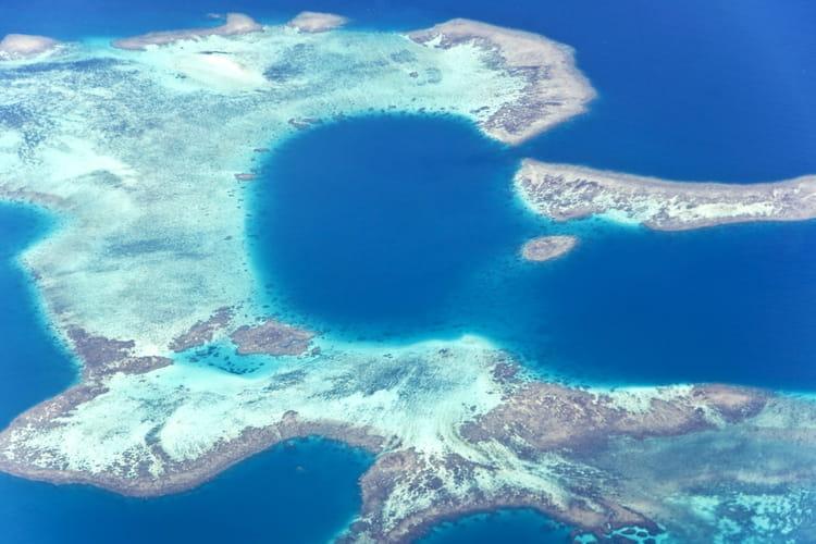 Nouvelle Calédonie vue du ciel