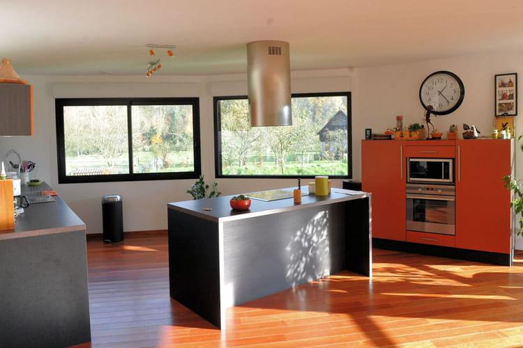 Une cuisine ouverte for Cuisine non ouverte