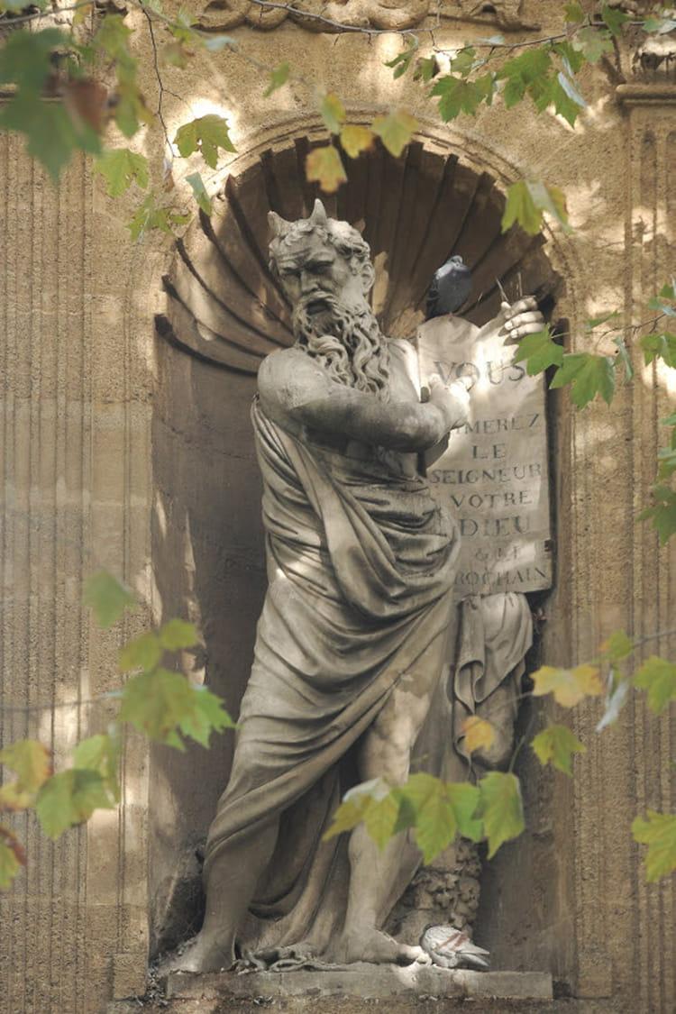 Aix-en-provence : Monument de Joseph Sec