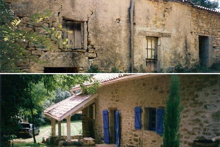 Ancienne maison de journalier avant apr s 30 maisons r nov es par les lec - Refaire electricite maison ancienne ...