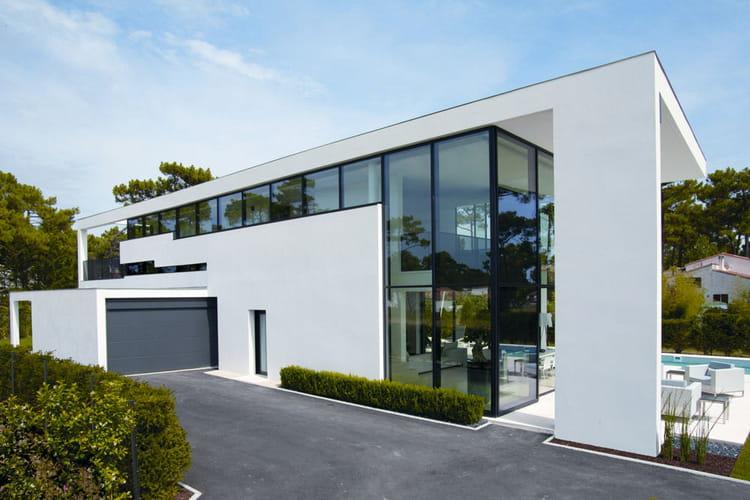 Maison plume marthes 40 les plus belles maisons for Les plus belles maisons contemporaines