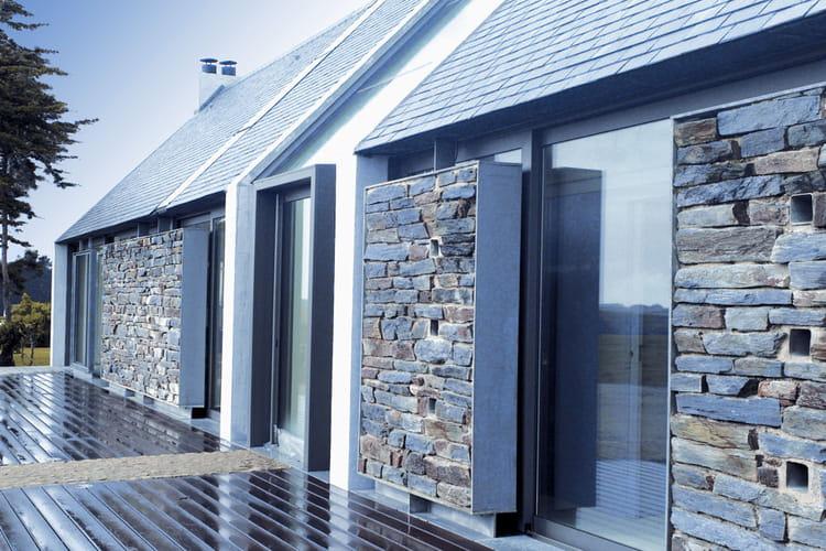 Maison paravent bangor 56 les plus belles maisons for Architecture bretonne traditionnelle