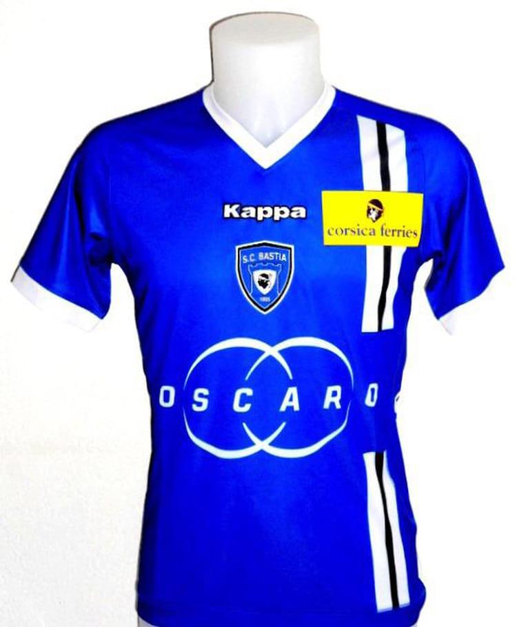 SC Bastia : Les Nouveaux Maillots Des Clubs De Ligue 1
