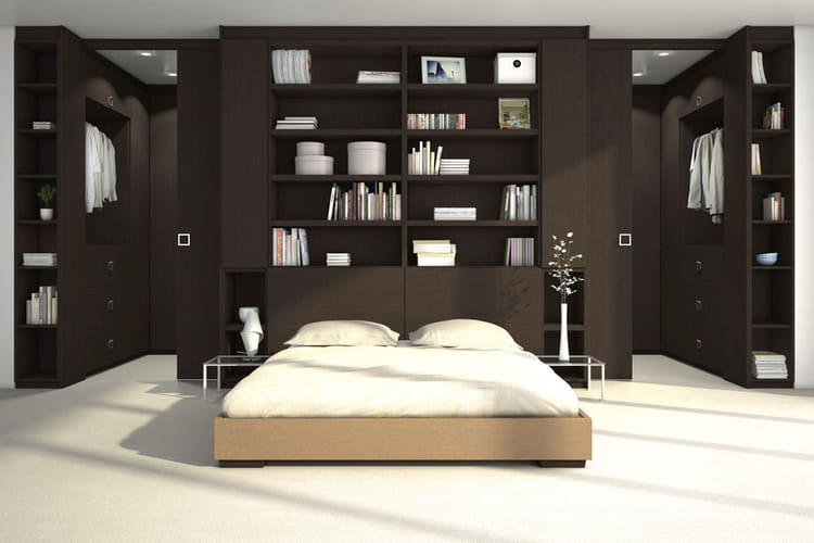 un dressing modulable. Black Bedroom Furniture Sets. Home Design Ideas