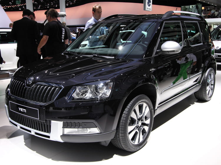 skoda yeti salon de francfort 2013 les nouveaut s. Black Bedroom Furniture Sets. Home Design Ideas