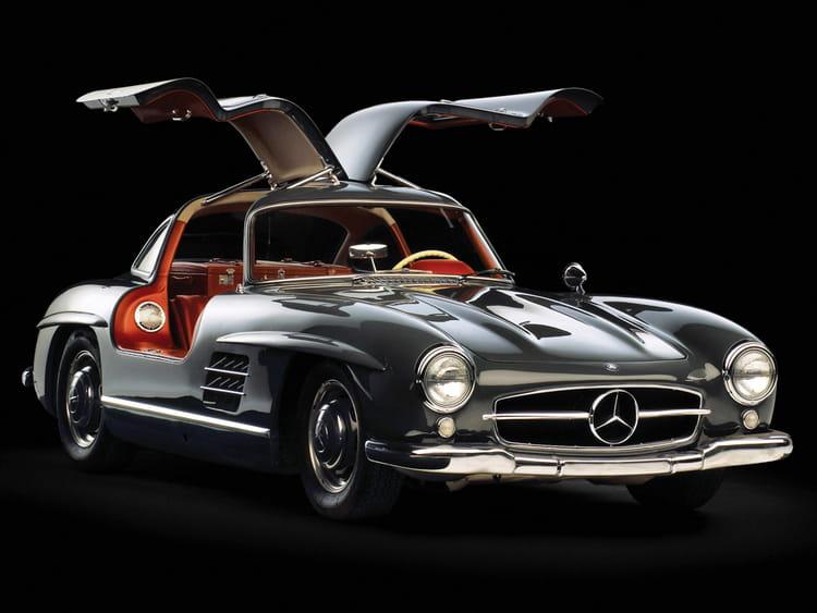 Mercedes benz 300 sl les voitures qui ont marqu l for Mercedes benz sl 300