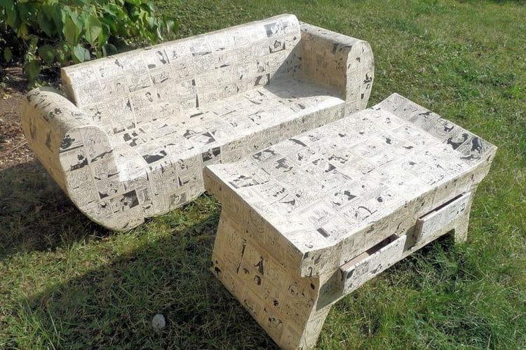 15 meubles en carton fabriqu s par les lecteurs linternaute. Black Bedroom Furniture Sets. Home Design Ideas
