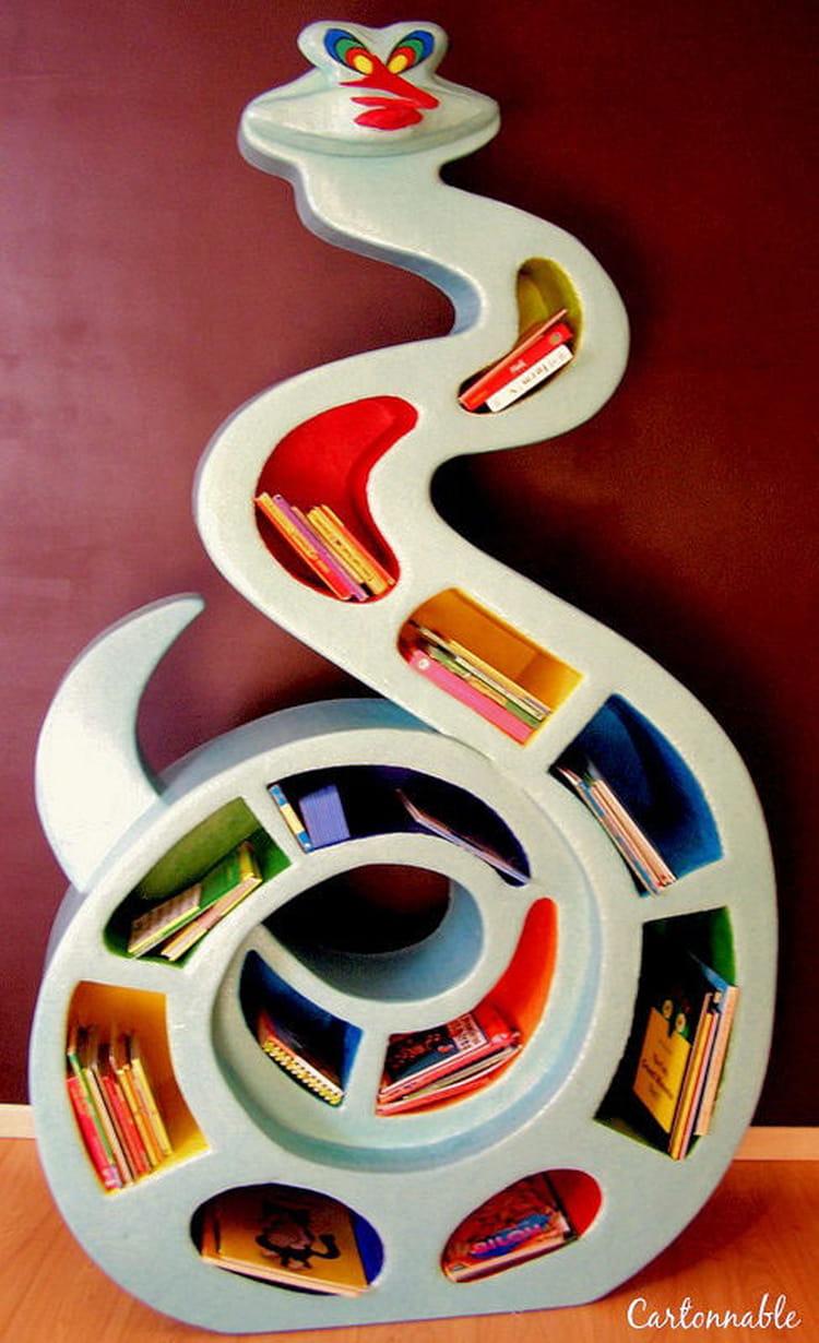 Une biblioth que pour enfant - Meuble bibliotheque enfant ...
