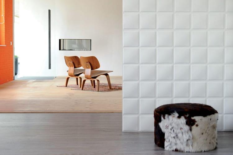 panneau mural cubes zoom sur les papiers peints 3d linternaute