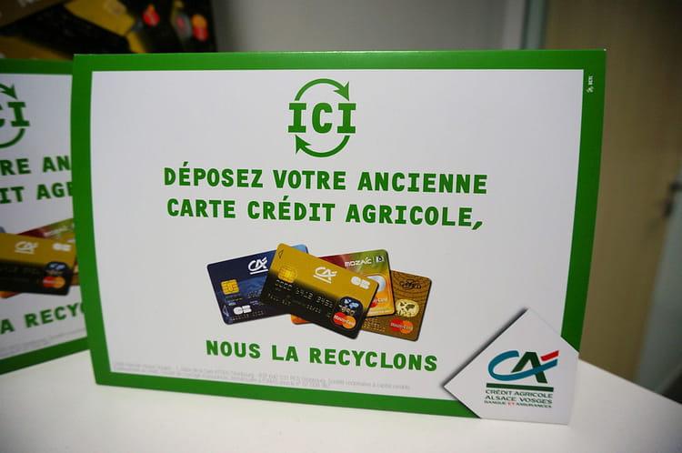Le recyclage de la carte bancaire