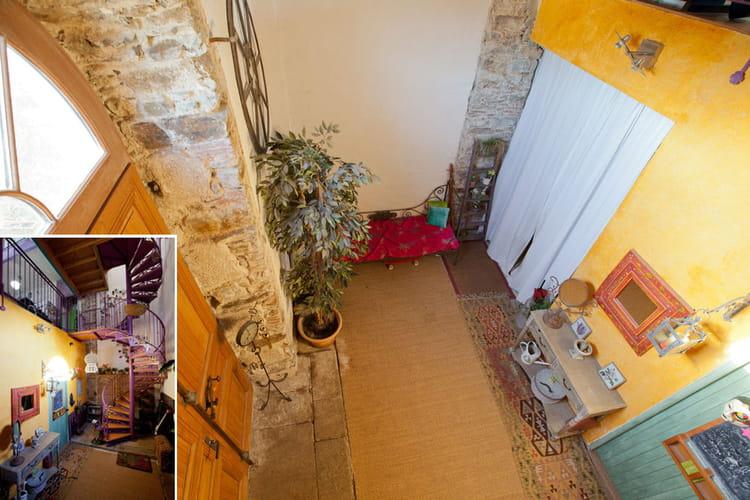 L 39 entr e de la maison transformation d 39 une chapelle en - L entree de la maison ...