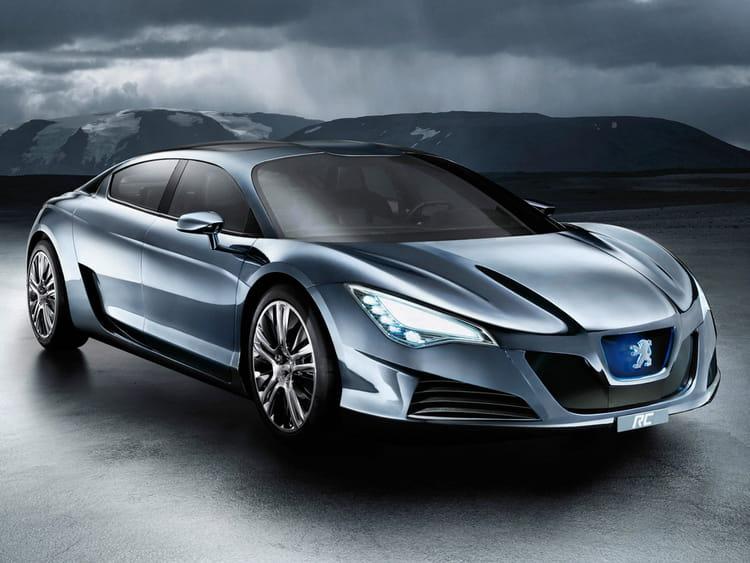 peugeot rc hybrid 4 concept les concept cars qui ont marqu l 39 automobile fran aise linternaute. Black Bedroom Furniture Sets. Home Design Ideas