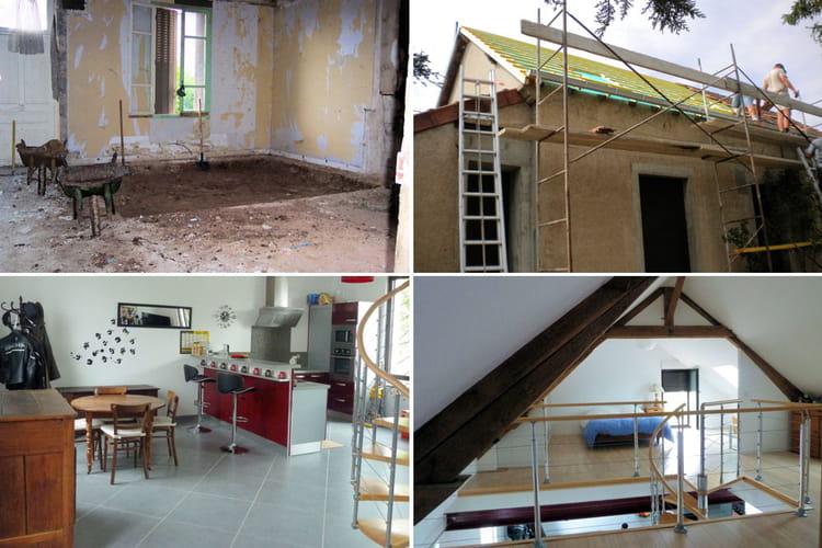 Une maison deux fois plus grande avant apr s 30 maisons r nov es par les - Forum renovation maison ...
