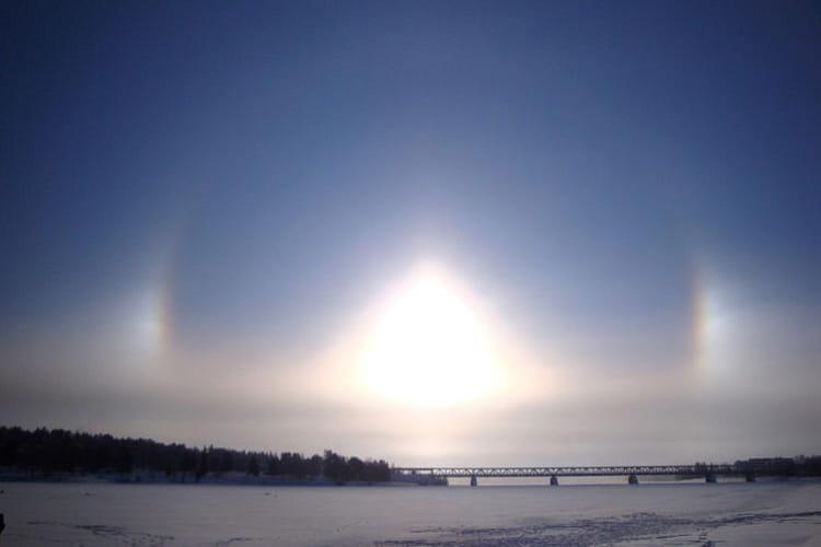 Les halos de l'Arctique