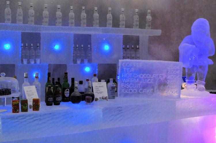 Un ice bar !