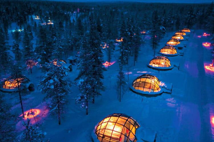 Le village d'igloos de Saariselkä