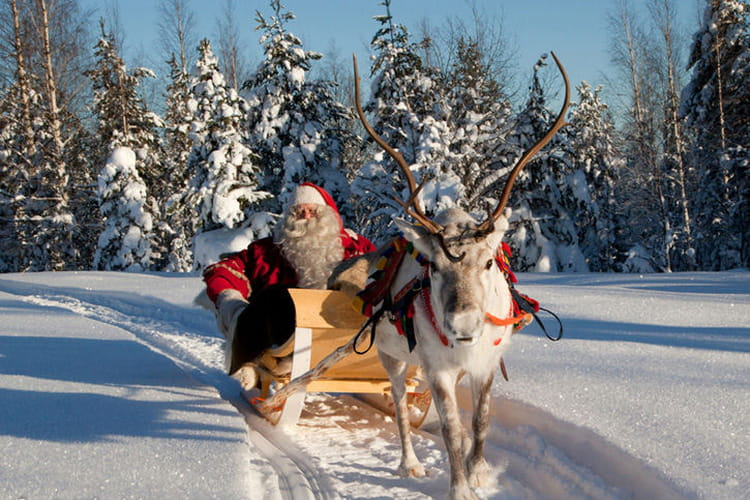 le pere noel en laponie Voyager en Images: Visitez le vrai village du Père Noël en Laponie  le pere noel en laponie