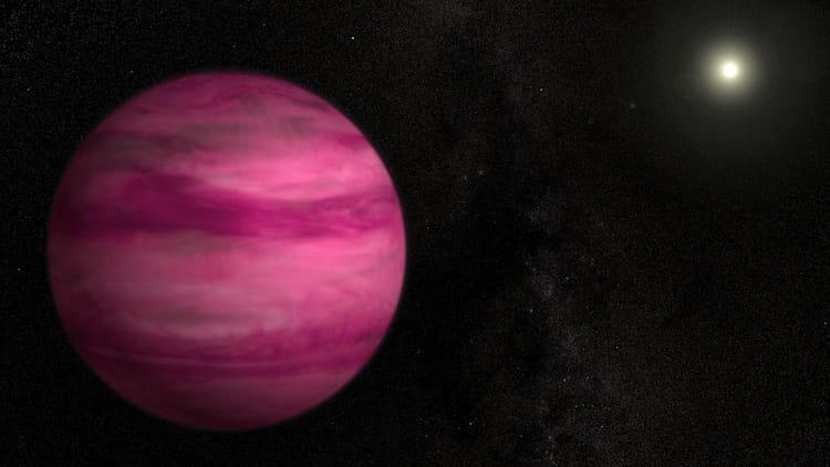 La planète rose GJ 504 b
