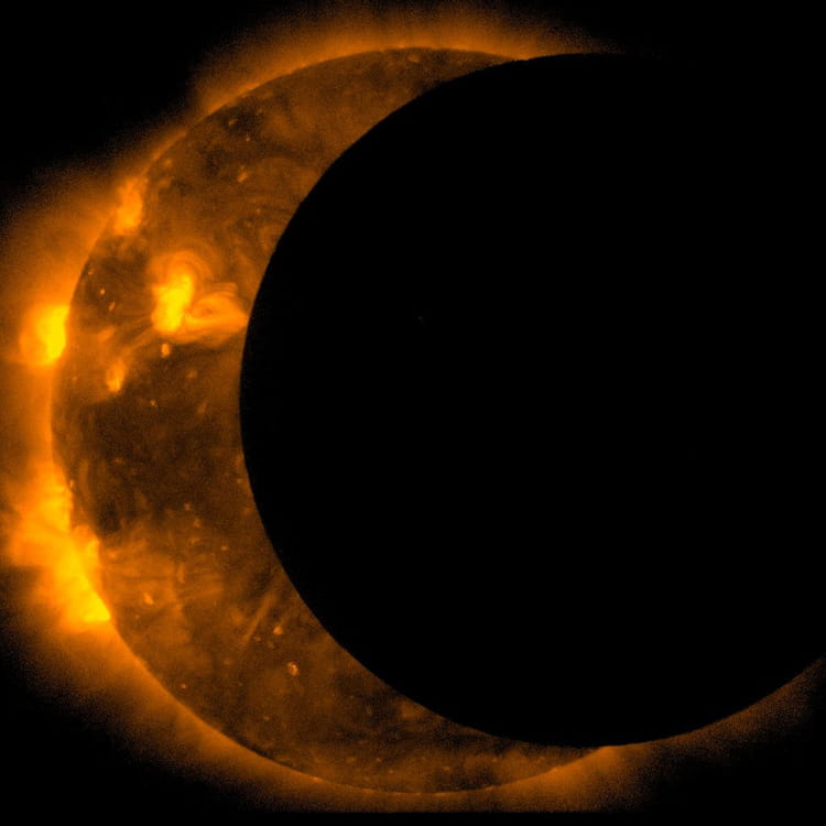 Eclipse annulaire du Soleil