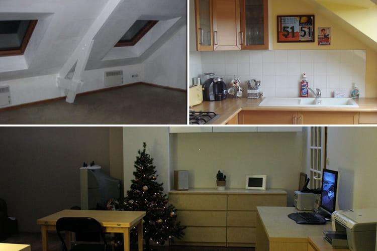 une r novation pour optimiser l 39 espace avant apr s 15 appartements r nov s par les lecteurs. Black Bedroom Furniture Sets. Home Design Ideas