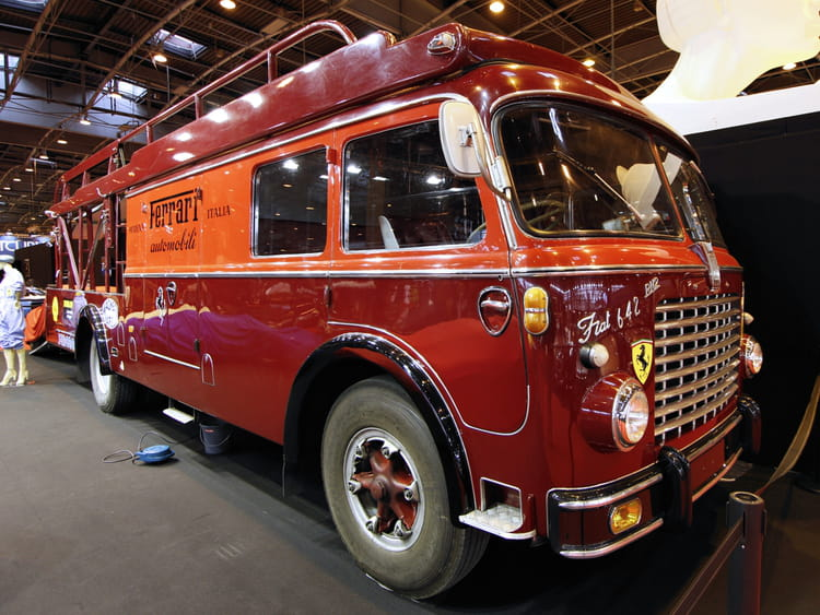 Rétromobile 2014 : fiat 642 rn2 barloletti de 1957