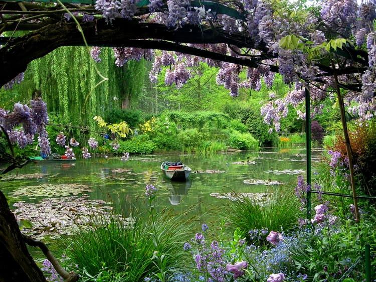 Les jardins de giverny eure les lieux les plus for Les jardins en france