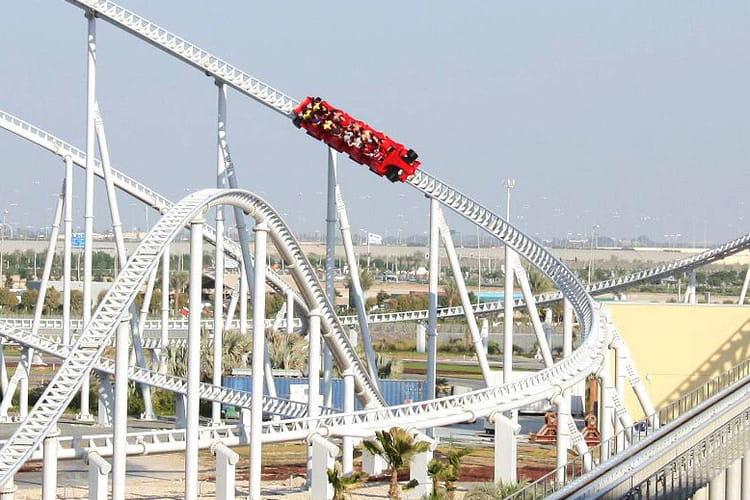 Formula Rossa à Abu Dhabi, Emirats arabes unis