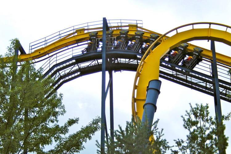 Batman : the ride, Six Flags Great Adventure