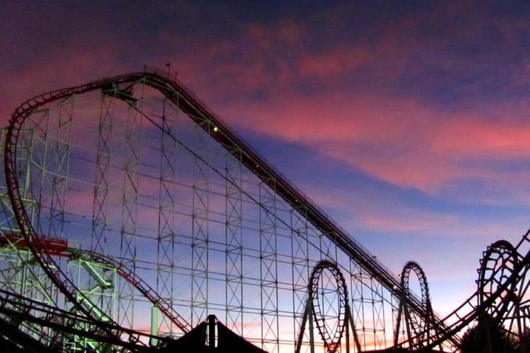 Viper au Six Flags de Valencia aux Etats-Unis
