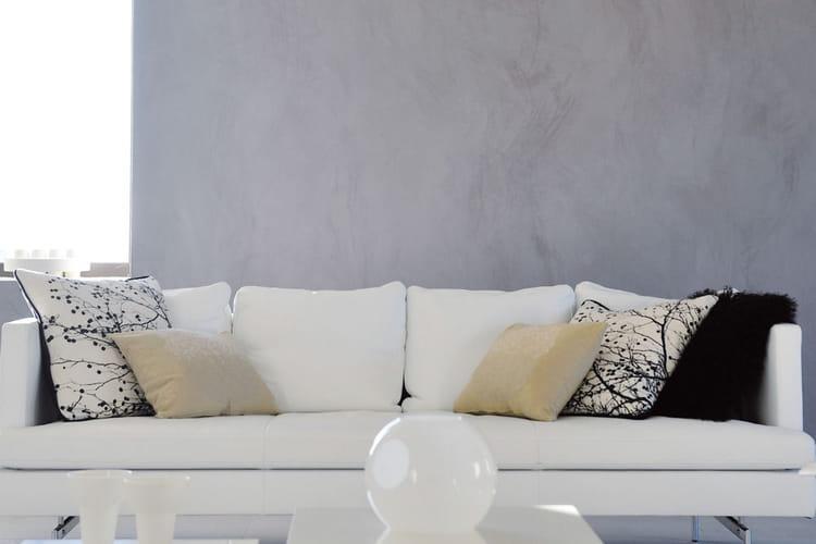 Un mur r nov et d cor avec un seul enduit 20 peintures - Enduit de renovation reliss ...