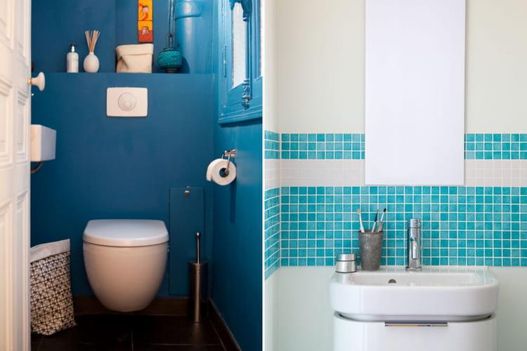 Du Bleu Pour Les Pi Ces D 39 Eau Visite D 39 Un Appartement